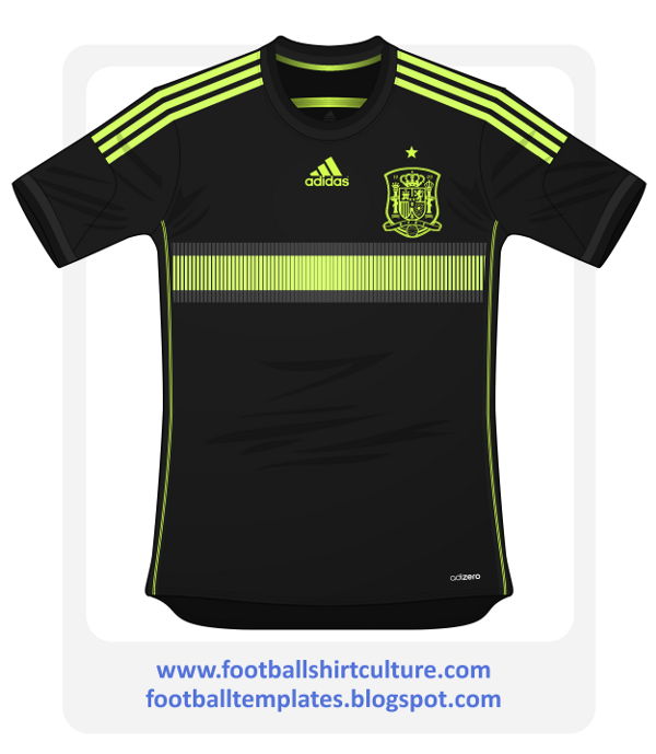 spain away shirt world cup Leaked Photos of World Cup Shirts That The 32 Teams Will Wear In Brazil