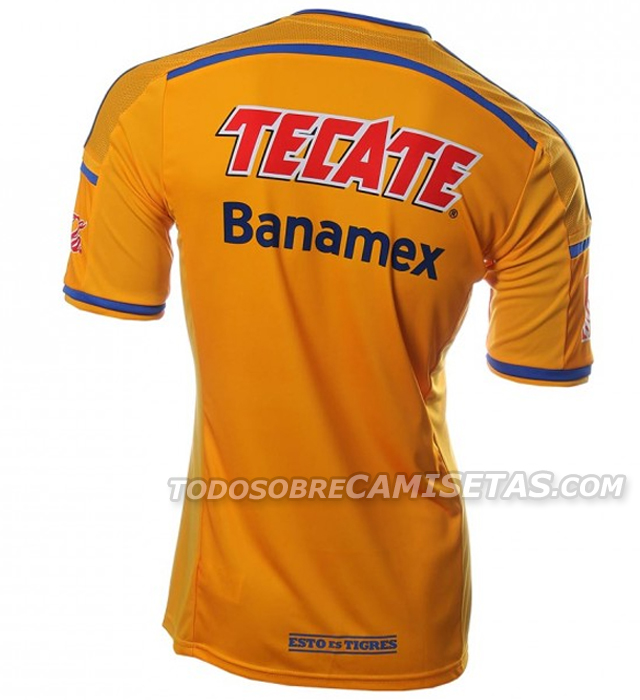 tigres unal back Tigres Home Shirt For 2014: Official [PHOTOS]