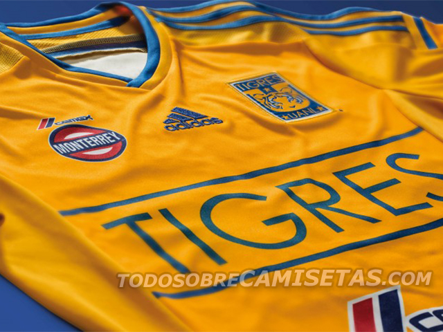 tigres unal closeup Tigres Home Shirt For 2014: Official [PHOTOS]