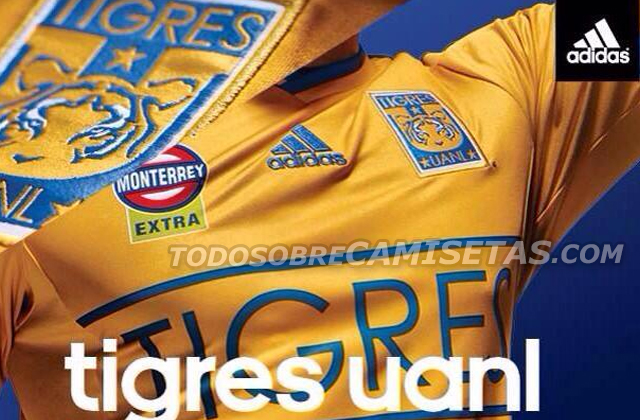 tigres unal shirt Tigres Home Shirt For 2014: Official [PHOTOS]