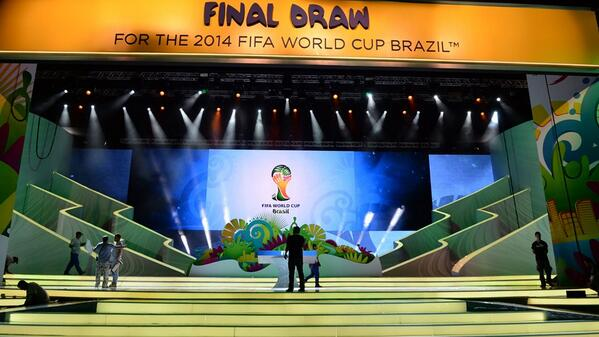 world cup draw FIFA World Cup 2014 Draw: Groups A H