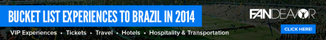 world cup travel World Cup 2014 TV Schedule For June 12 26: Find Out When Your Team Plays