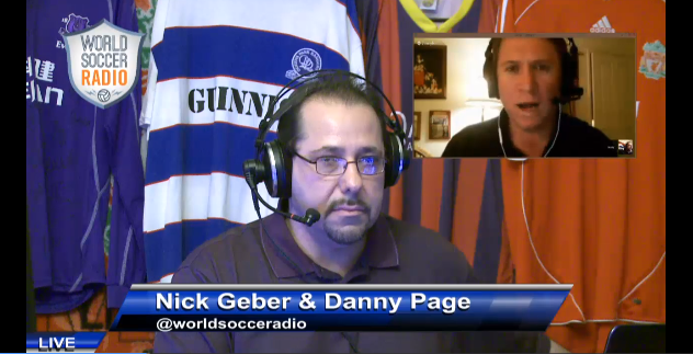 world soccer radio1 Watch 'World Soccer Radio', Live at 9pm ET: Tonight's Topic: Preview of Weekend EPL Matches [VIDEO]