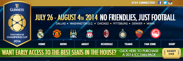 2014 international champions cup 600x202 Exclusive: Real Madrid, Manchester United, Liverpool And 5 Other Top Teams Heading to United States In July