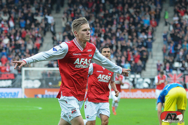 Aron Johannsson Aron Johannsson Needs to Stay In Holland to Improve Chances of Inclusion In USMNT World Cup Squad