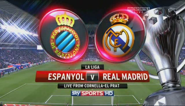 Espanyol vs Real Madrid Where to Find Espanyol vs Real Madrid On US TV and Internet; 1pm ET Kickoff: Open Thread