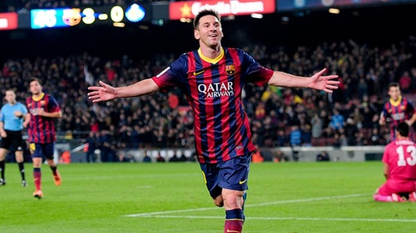 Messi Getafe 600x337 The Top 5 Must See Soccer Matches On Television This Weekend