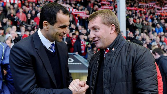 Rodgers Martinez Liverpool and Everton Renaissance Can Only Mean Good Things For Roy Hodgson And England