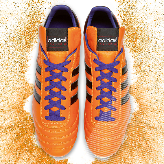 Samba Copa Mundial KV pairs orange adidas Release Limited Edition Copa Mundial Soccer Cleats [PHOTOS]