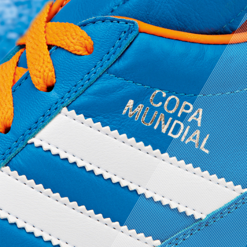 Samba Copa Mundial detail blue a adidas Release Limited Edition Copa Mundial Soccer Cleats [PHOTOS]