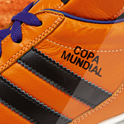 Samba Copa Mundial detail orange a adidas Release Limited Edition Copa Mundial Soccer Cleats [PHOTOS]