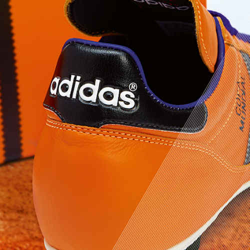 Samba Copa Mundial detail orange b adidas Release Limited Edition Copa Mundial Soccer Cleats [PHOTOS]