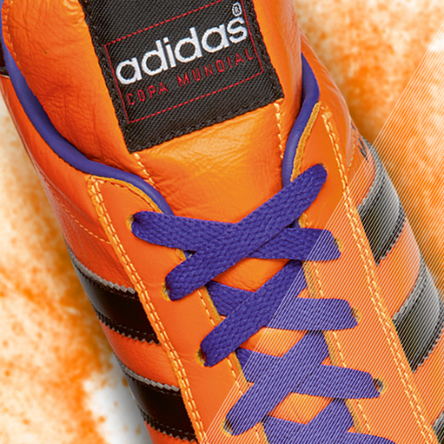 Samba Copa Mundial detail orange c adidas Release Limited Edition Copa Mundial Soccer Cleats [PHOTOS]