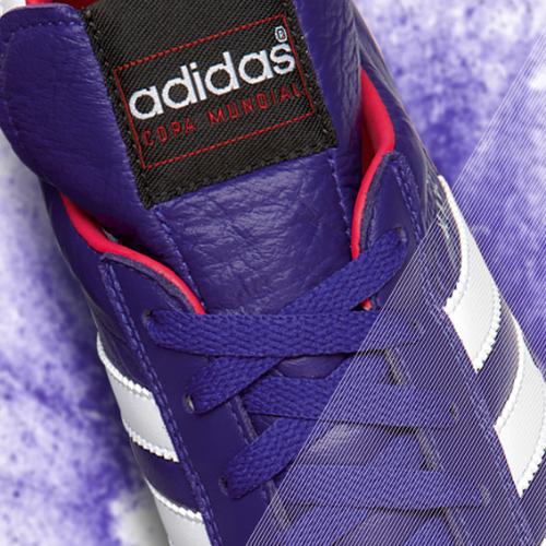 Samba Copa Mundial detail purple b adidas Release Limited Edition Copa Mundial Soccer Cleats [PHOTOS]
