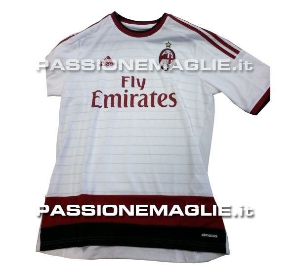 ac milan 2014 15 away shirt AC Milan Home, Away and Third Shirts For 2014/15 Season: Leaked [PHOTOS]