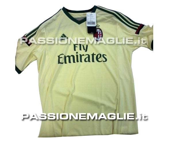 ac milan 2014 15 third shirt AC Milan Home, Away and Third Shirts For 2014/15 Season: Leaked [PHOTOS]