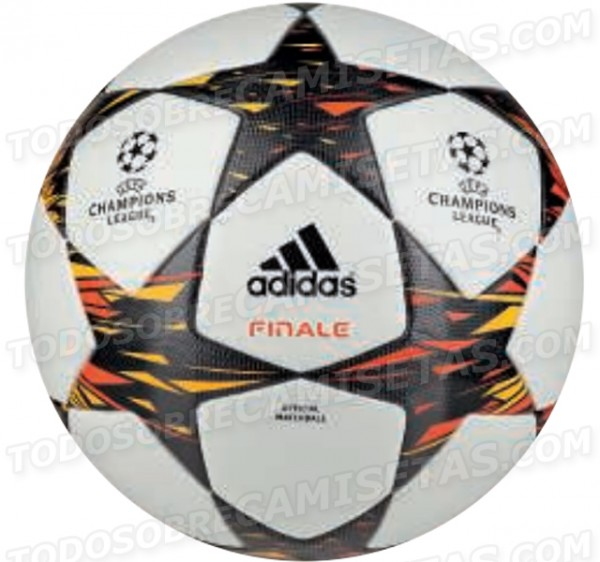 adidas 2014 champions league ball 600x562 Official Matchball for 2014 UEFA Champions League Final From adidas: Leaked [PHOTO]