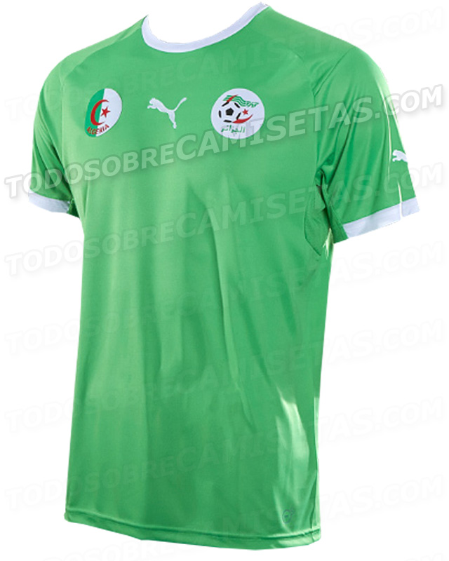 algeria away shirt world cup Leaked Photos of World Cup Shirts That The 32 Teams Will Wear In Brazil