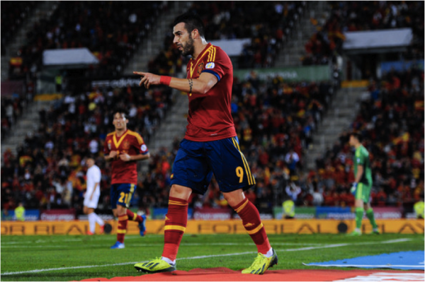 alvaro negredo spain 600x399 Can Spain Retain The World Cup?