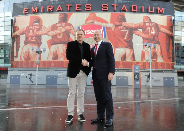 arsenal puma deal 600x428 The Economics of Arsenals Emirates Stadium