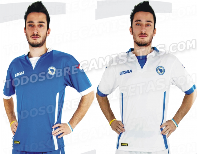 bosnia world cup shirts Are These Bosnia and Herzegovinas Home And Away Shirts For World Cup 2014? Leaked [PHOTOS]