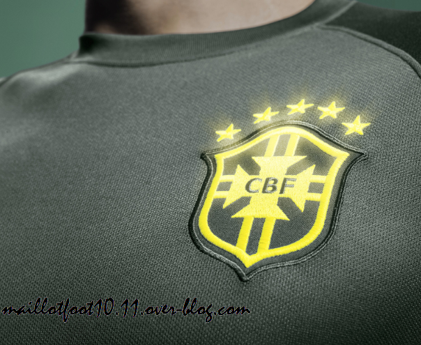 Brazil Third Shirt For World Cup 2014: New Leaked [PHOTOS]