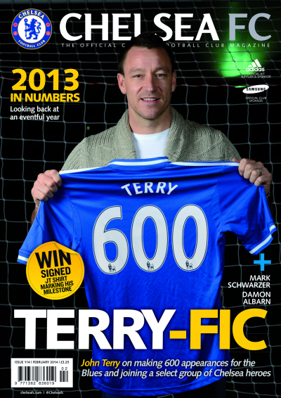 chelsea magazine cover Interview With John Terry On Making 600 Appearances For Chelsea
