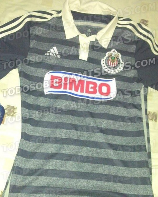chivas de guadalajara away shirt 600x750 Chivas de Guadalajara Away Shirt For 2014 Season: Leaked [PHOTO]