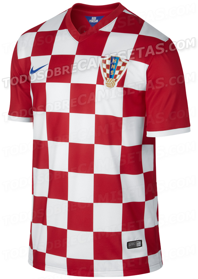croatia world cup shirt home Leaked Photos of World Cup Shirts That The 32 Teams Will Wear In Brazil