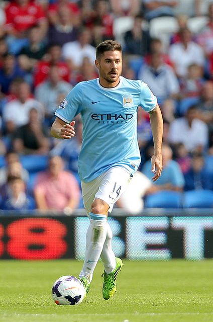 javi garcia Why Javi Garcia is Going to be Hugely Important for Manchester City