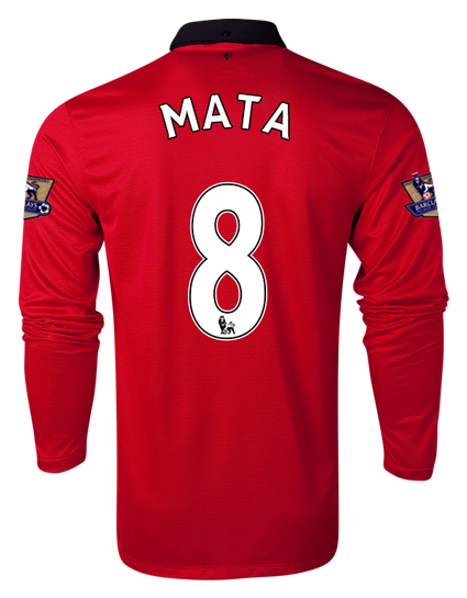 juan mata manchester united shirt home Manchester United Supporters: Order Your Juan Mata Number 8 Shirt