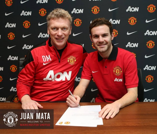 juan mata4 600x513 Manchester United Unveil Juan Mata As New Signing [VIDEO]