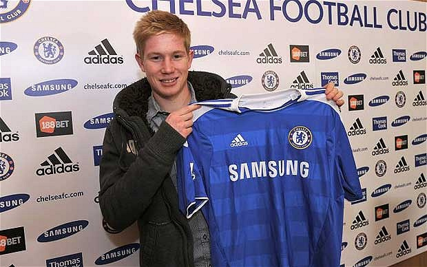 kevin de bruyne Chelsea Midfielder Kevin de Bruyne Joins Wolfsburg For £19million: Daily Soccer Report