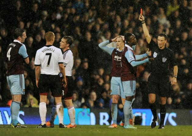 kevin nolan Kevin Nolan Fined £100k by West Ham For Costly Red Card Against Fulham: Daily Soccer Report