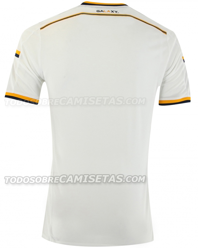 la galaxy home shirt back LA Galaxy Home Shirt For 2014 MLS Season: Leaked [PHOTOS]