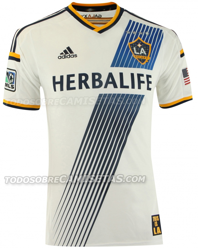 la galaxy home shirt home LA Galaxy Home Shirt For 2014 MLS Season: Leaked [PHOTOS]