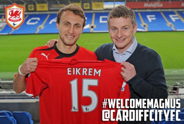 magnus wolff eikrem 600x405 Cardiff City Sign Norwegian Midfield Duo Magnus Wolff Eikrem