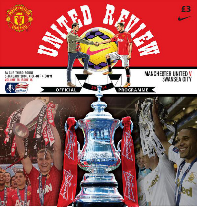 man united swansea programme FA Cup Third Round, Sunday: Open Thread