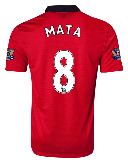 manchester united juan mata shirt Manchester United Supporters: Order Your Juan Mata Number 8 Shirt