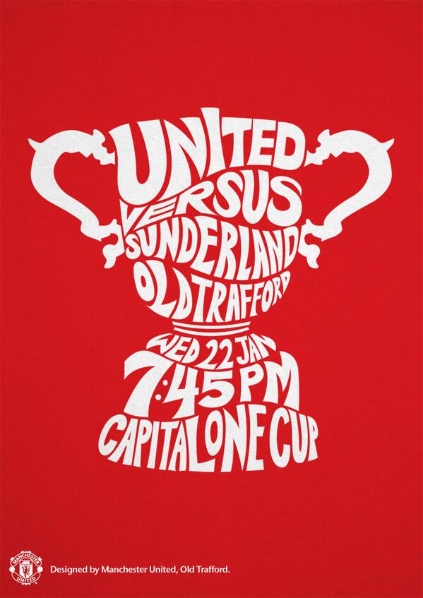 manchester united sunderland Manchester United vs Sunderland, Capital One Cup Semi Final 2nd Leg: Open Thread