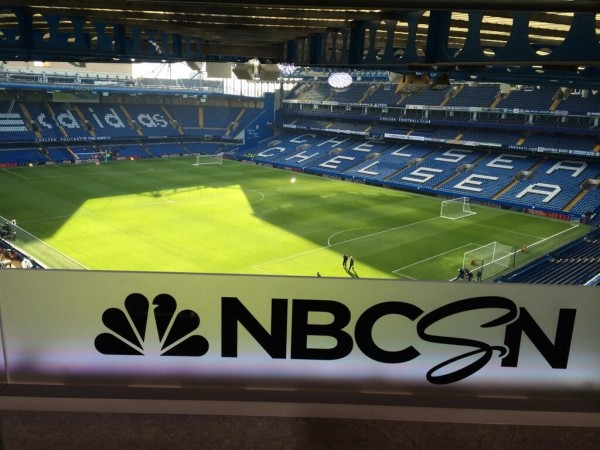 nbc studio chelsea 600x450 Gary Lineker And Lee Dixon Feature In Studio Today For NBCSNs Chelsea Manchester United Coverage