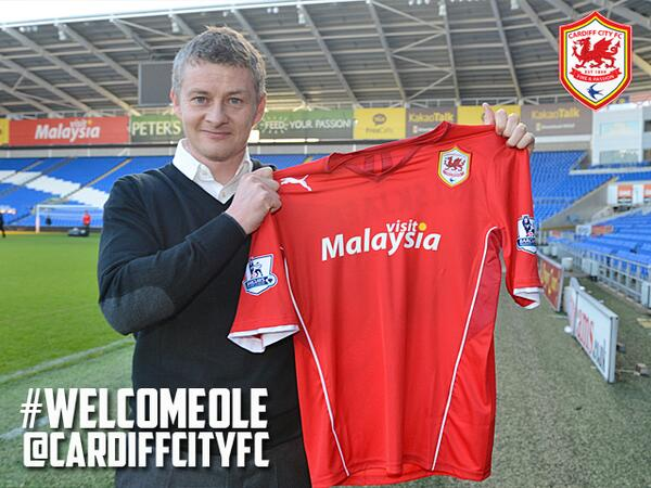 ole gunnar solskjaer Ole Gunnar Solskjaer Named Cardiff City Manager: Official