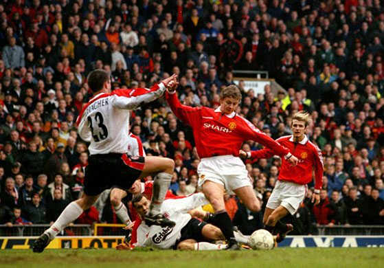 ole solskjaer man utd liverpool WATCH Ole Gunnar Solskjaers Goal For Man United vs Liverpool in 1999 FA Cup [VIDEO]
