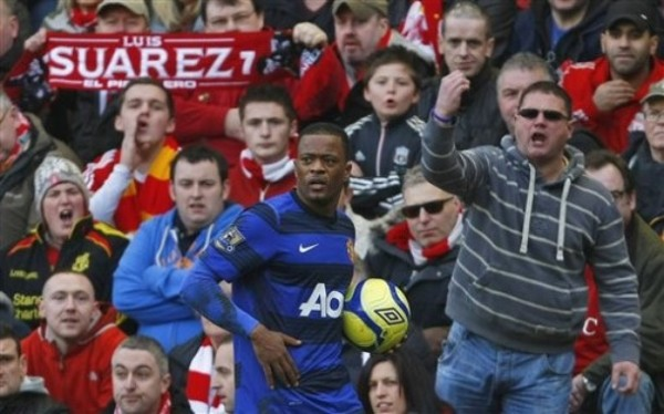 patrice evra 600x374 3 Manchester United Footballers Who Are Dragging David Moyes Down