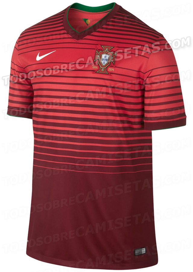 portugal world cup shirt home Leaked Photos of World Cup Shirts That The 32 Teams Will Wear In Brazil