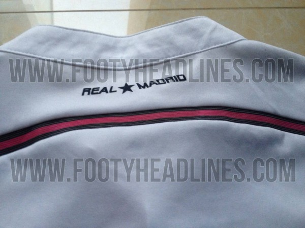 real madrid home shirt back 600x450 Real Madrid Home Shirt for the 2014/15 Season: Leaked [PHOTOS]