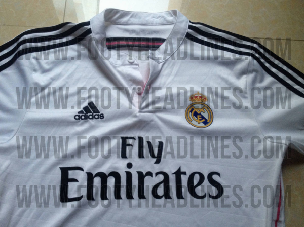 real madrid shirt 600x448 Real Madrid Home Shirt for the 2014/15 Season: Leaked [PHOTOS]