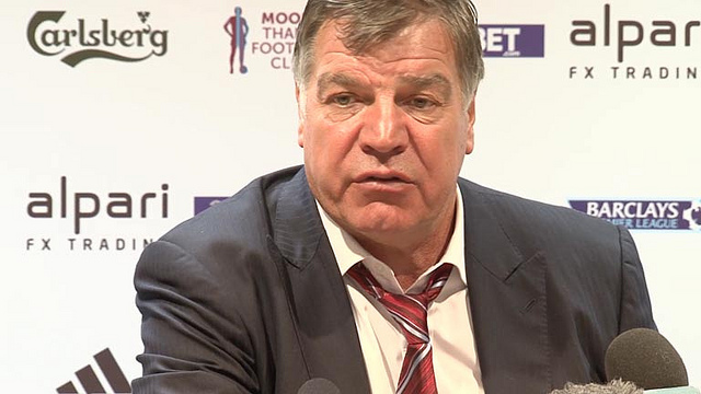sam allardyce West Ham Face £5m Payout If They Sack Under Pressure Manager Sam Allardyce: Nightly Soccer Report