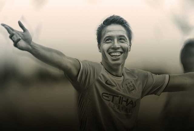 samir nasri1 With Samir Nasri Injured, Manchester City Have 3 Tactical Options to Consider