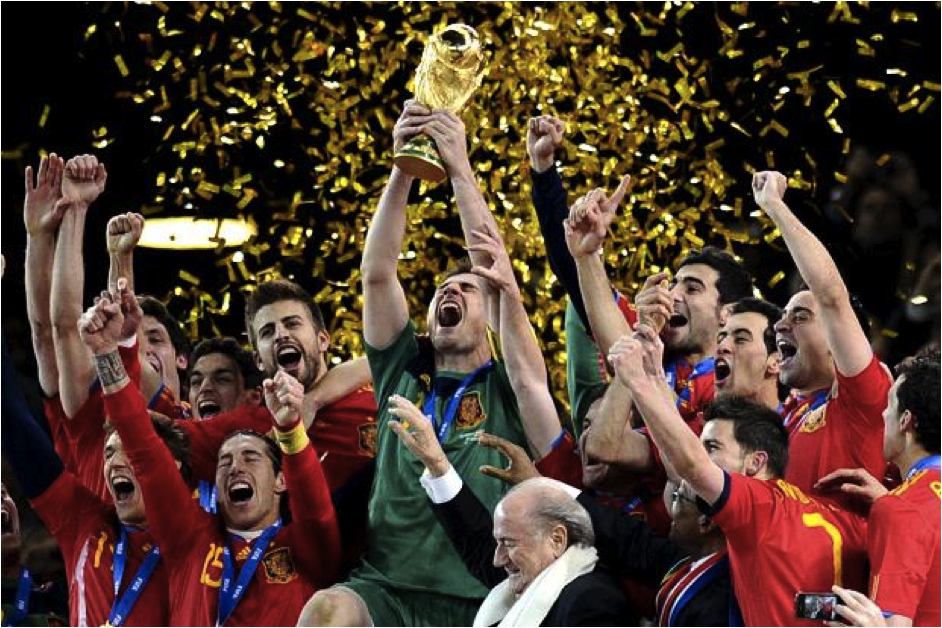 Can spain retain the world cup world soccer talk